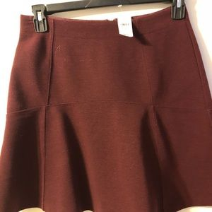 Ann Taylor Loft flippy mini skirt